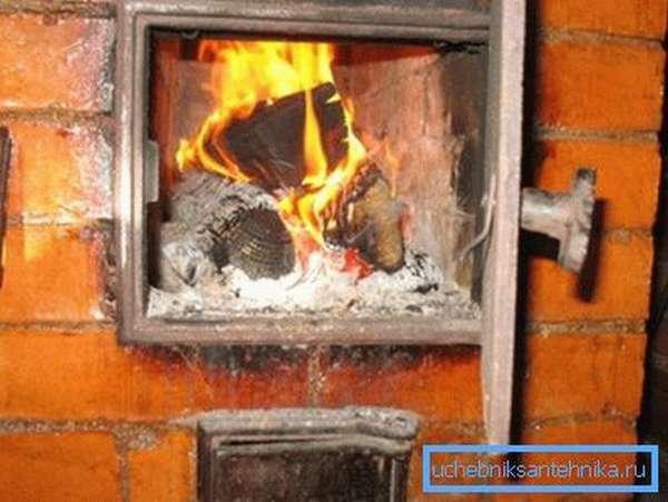 Печное отопление в загородной постройке