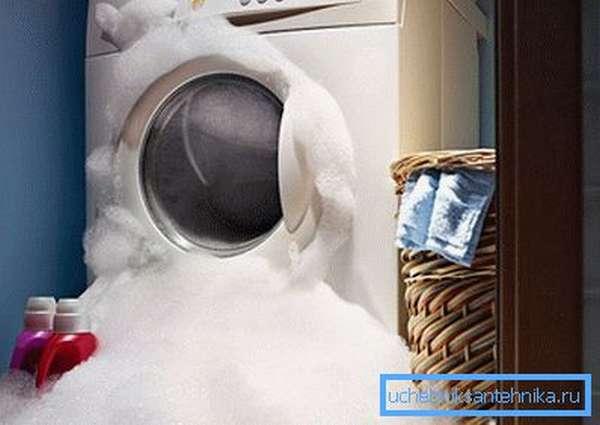 Пена в стиральной машине