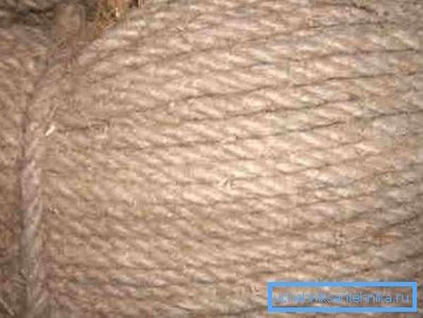 Пеньковая веревка для швов