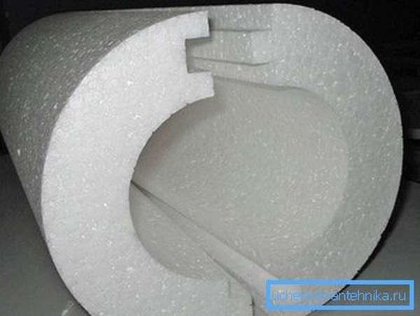 Пенопласт в качестве теплоизолятора