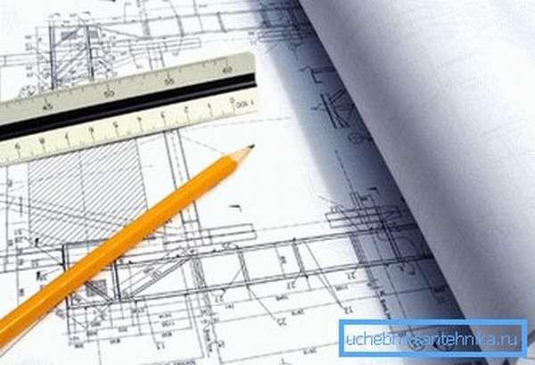 Перед монтажом системы отопления необходимо подготовить проект инженерной сети