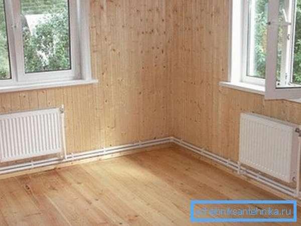 Перед тем, как правильно установить радиаторы отопления, следует определить тип разводки.