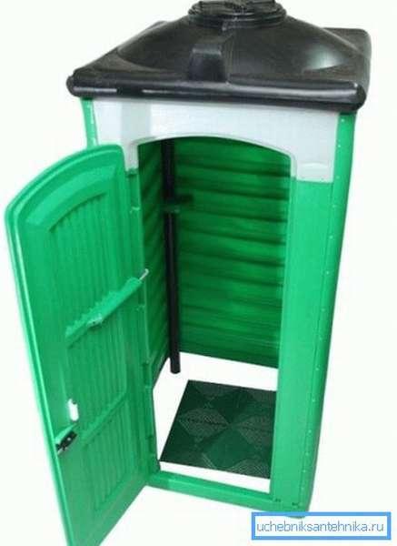 Пластиковая душевая кабинка