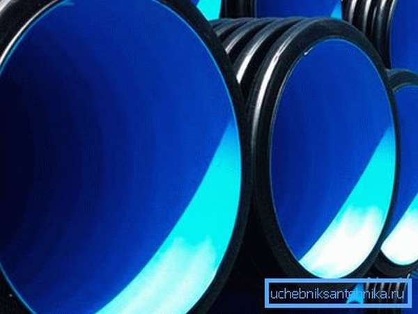 Пластиковая канализационная труба ПП