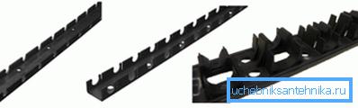 Пластиковые планки для крепления вентиляционных каналов