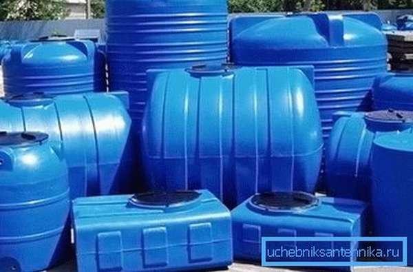 Пластиковый септик или изолированная выгребная яма