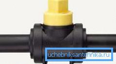 Пластиковый шаровый кран 50 мм SDR11 (полиэтилен)