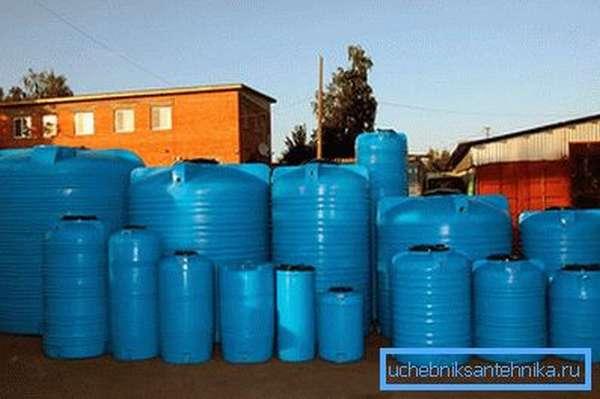 Плюсы пластиковых резервуаров