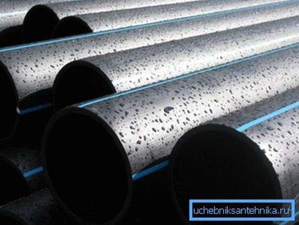 ПНД трубы для наружного водопровода