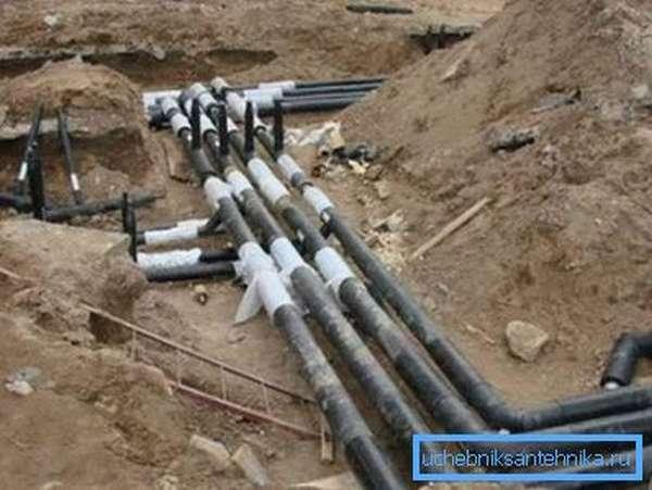 Подключение к магистральному водопроводу