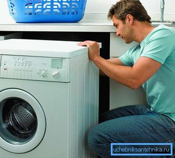 Подключение водопровода к стиральной машине