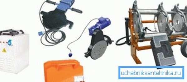 Подобное оборудование состоит из нескольких узлов, контроль которых осуществляется через специальную станцию