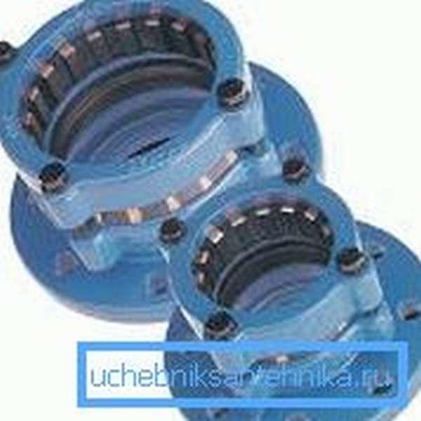 Подобные системы для пластиковых труб часто называют адаптерами, поскольку они должны обеспечить переход с одного диаметра на другой или с ПЭ трубы на металл