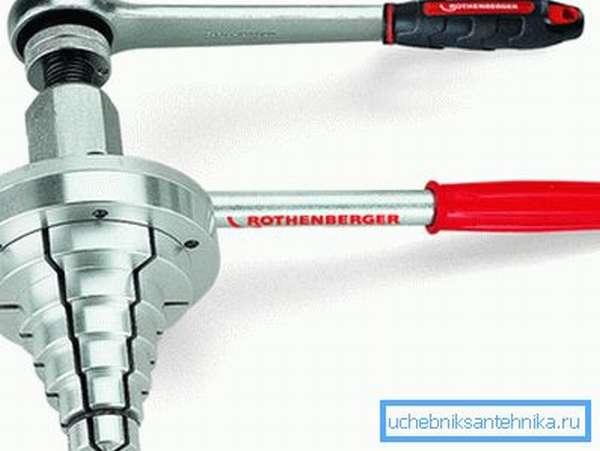Подобрать нужный диаметр головки эспандера будет несложно