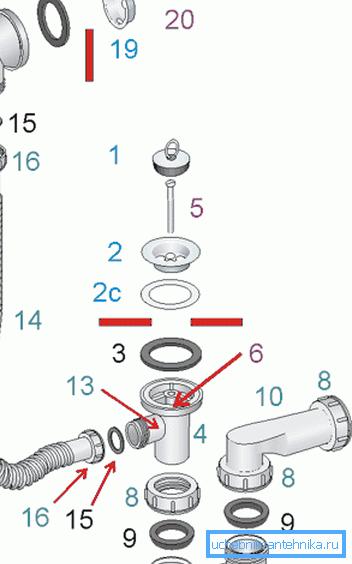 Подробная схема подключения