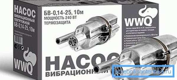 Погружной вибрационный насос БВ-0