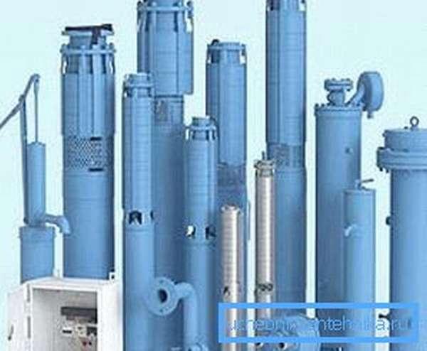 Погружные центробежные агрегаты подойдут под разные глубины и диаметры скважин