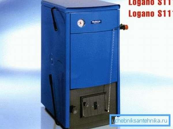 Показан внешний вид продукции Logano.