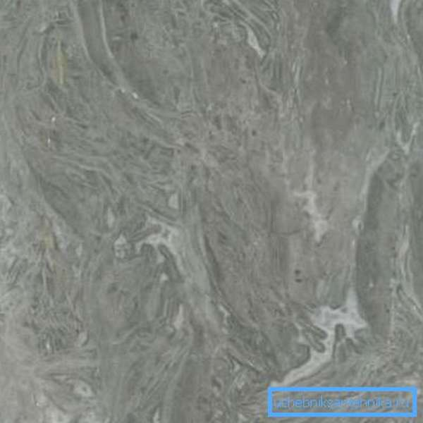 Показана поверхность серого мрамора.