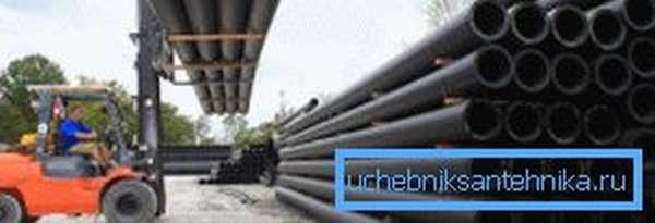 Полиэтиленовые трубы высокой плотности позволят проложить магистрали большой протяжённости