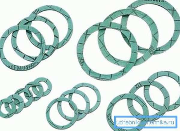 Полимерные кольца для замены