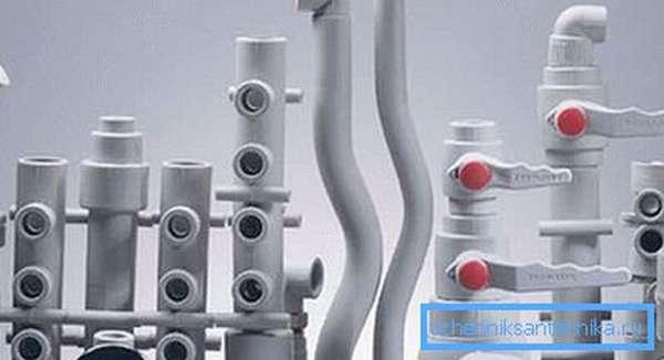 Полимерные трубы фитинги и запорная арматура