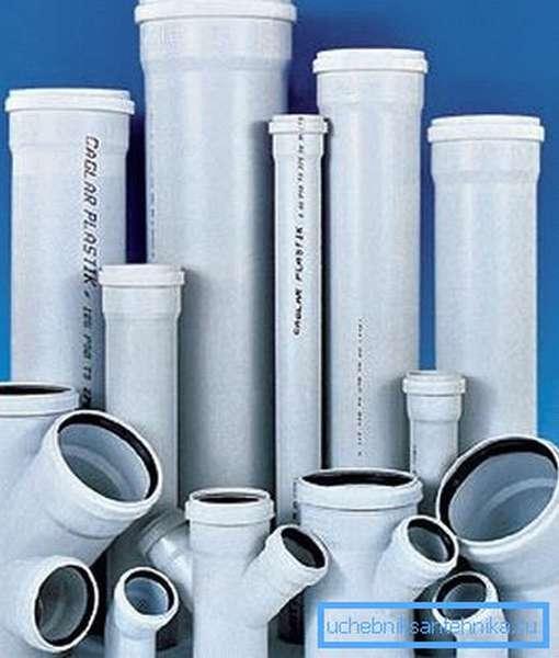 Полимеры отлично подходят для изготовления трубных изделий