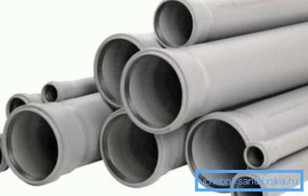 Полипропиленовые трубы для монтажа канализации