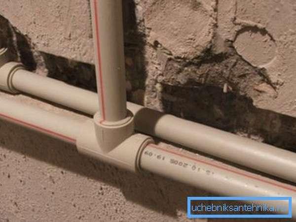Полипропиленовые трубы отопления в доме