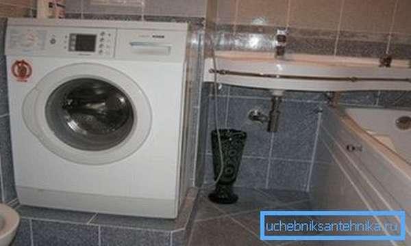 После покупки стиральную машину следует правильно подключить