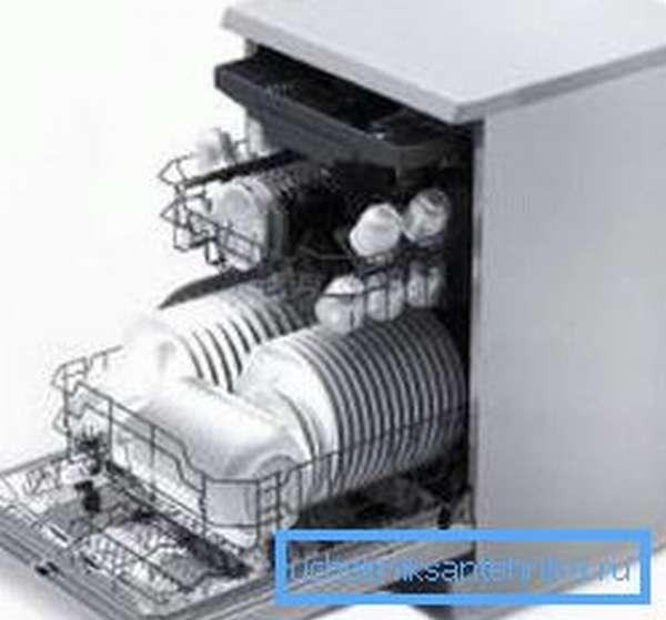 Посудомоечная машина без подключения к водопроводу на даче должна иметь специальный накопительный бак