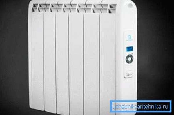 Практичный настенный электрический масляный радиатор