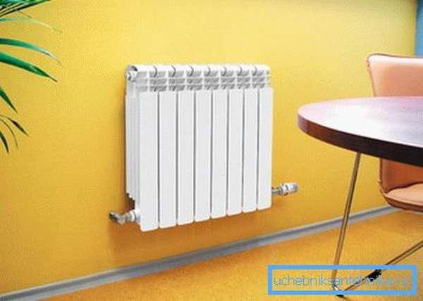 Правильно подобранные радиаторы отопления в квартиру способны украсить интерьер.