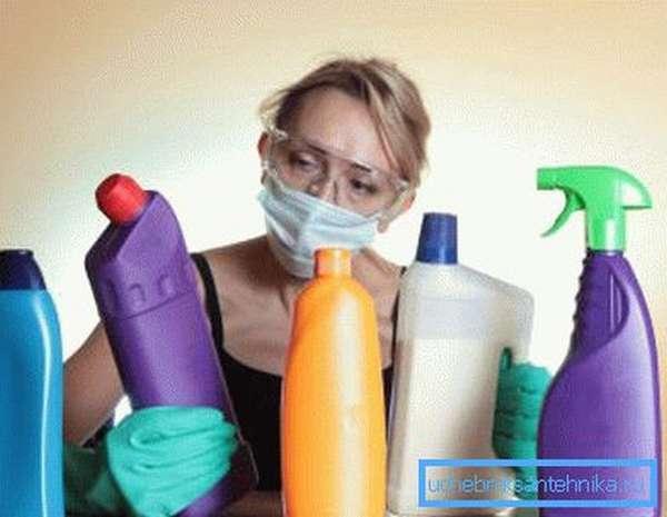 Правильный выбор чистящего средства - залог простоты чистки сантехники