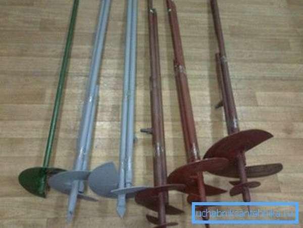Представленные на отечественном рынке изделия отличаются всевозможными параметрами: длина, диаметр и количество лопастей