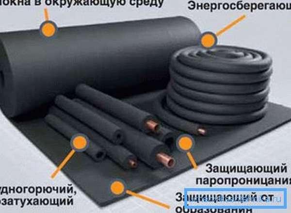 Преимущества вспененного каучука