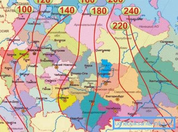 При планировке коммуникаций, обзаведитесь вот такой картой. Она не позволит допустить фатальные ошибки