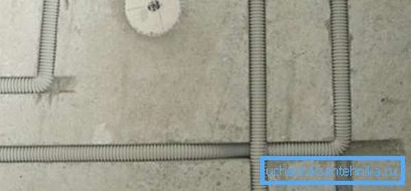 При прокладке электрокоммуникаций размер борозды должен соответствовать кабель каналу