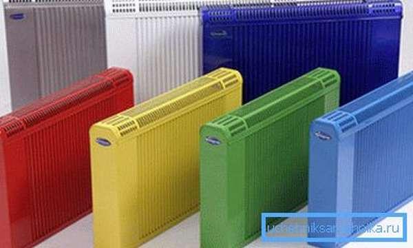 При выборе батарей отопления нужно учитывать их технические характеристики