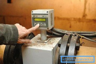 Прибор для учёта тепла в подвале