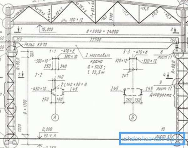 Пример проекта металлоконструкции.
