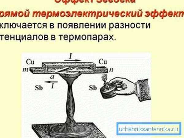 Принцип работы термопары открыт почти двести лет назад.