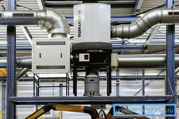 Приточно-вытяжная фильтрующая установка