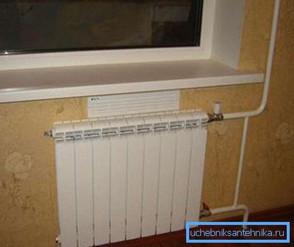 Приточный канал под окном – залог здорового микроклимата в комнате