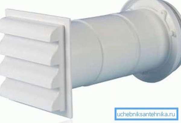 Приточный клапан системы вентиляции
