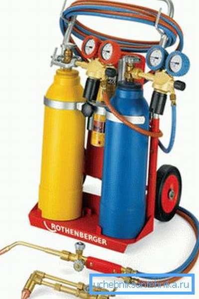 Профессиональное газобаллонное оборудование.