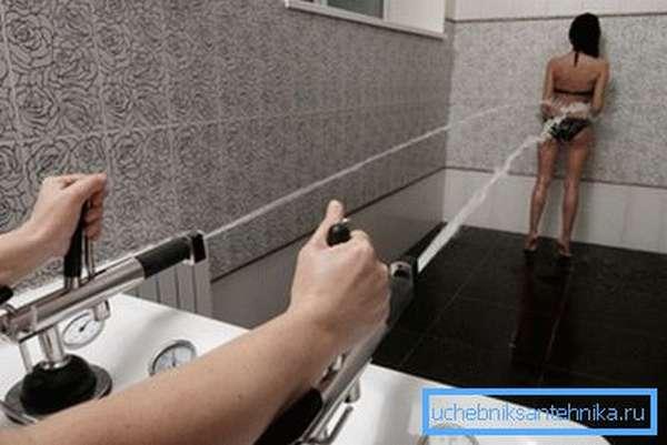 Профессиональный душ Шарко.