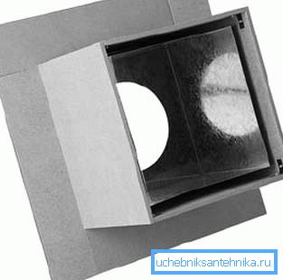 Проходной короб из минерита