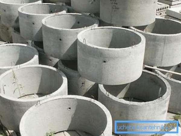 Производство колец колодезных давно уже поставлено на поток
