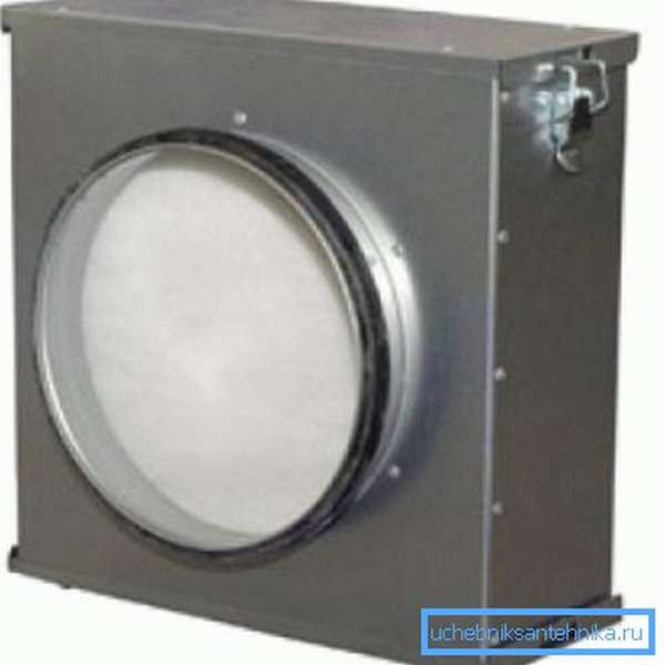 Промышленный вентиляционный фильтр